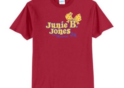 Hidden Hollow Junie B Jones cast and crew t shirt printing