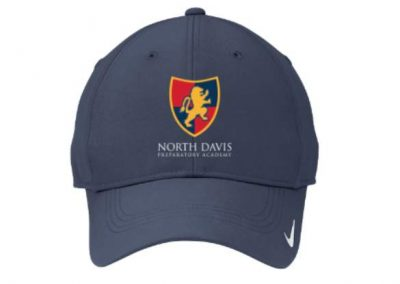 North Davis Preparatory Academy Nike brand custom embroidered cap