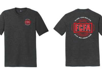 Full Circle Fitness Academy custom t shirts front and back