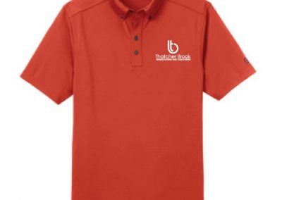 Thatcher Brook Rehabilitation Care Center custom branded polos