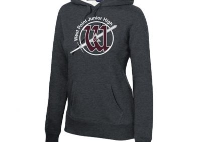 West Point Jr. High spirit wear - sweatshirt hoodies